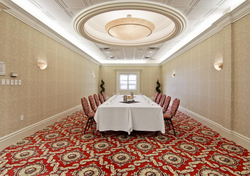 Montebello Room - Book this meeting room in St. Catharines